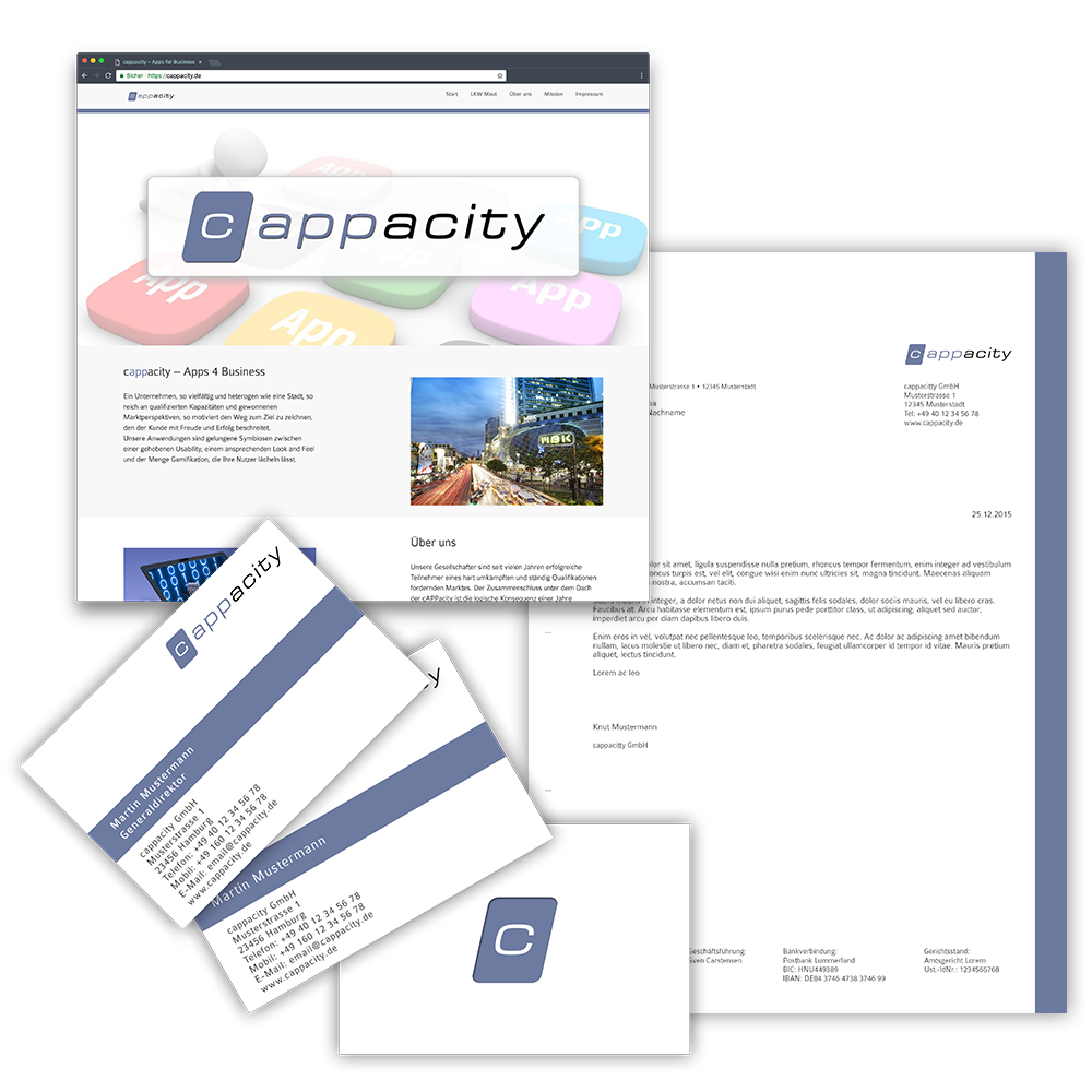 Website cappacity Gmbh