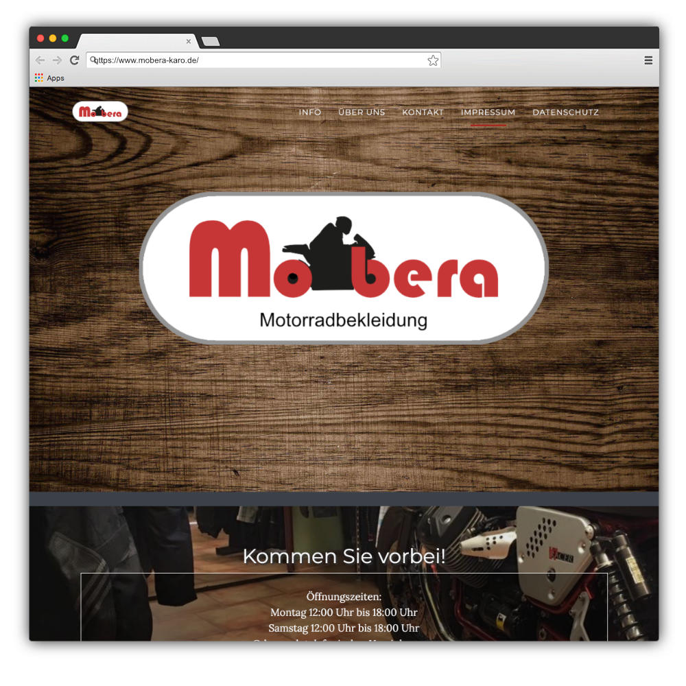 Website Mobera