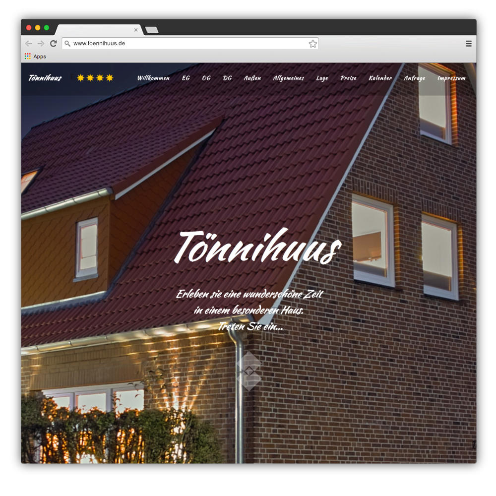Website Tönnihuus